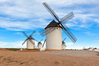 Obraz Stare Hiszpańskie wiatraki