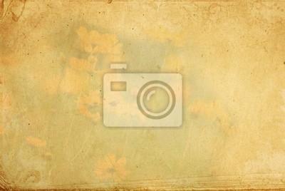 Stare kwiat papieru tekstury