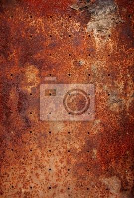 stare tekstury metalu z okrągłymi otworami
