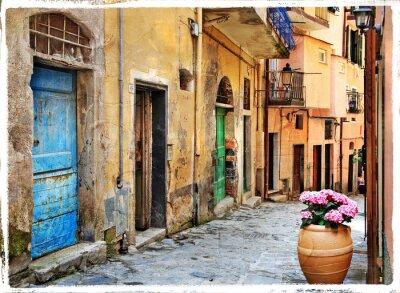 Stare ulice włoskich wiosek