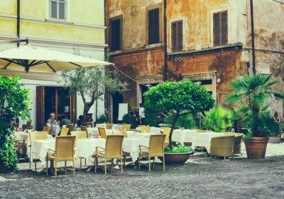 Obraz Stare ulicy w Rzymie