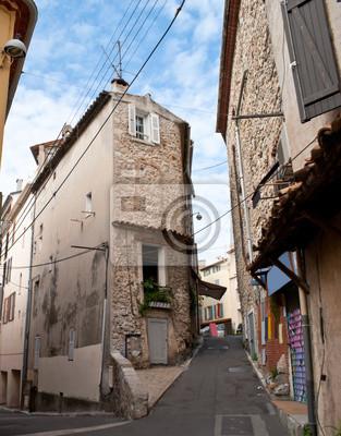 stare uliczki Antibes