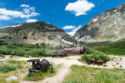 Stare urządzenia dla górnictwa w Kolorado