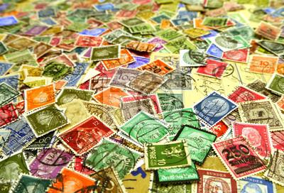 Stare znaczki pocztowe, Niemcy, Europa,