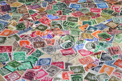 Stare znaczki pocztowe, Niemcy, Europa