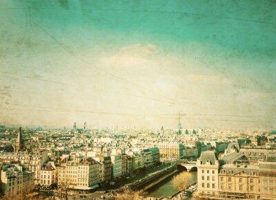 Obraz staromodny Paryż Francja