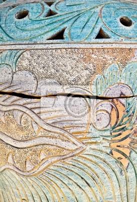 Starożytna Ceramic Texture