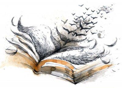 Obraz Starożytni książki