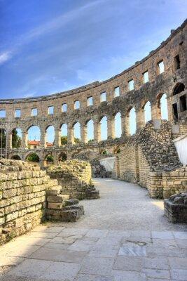 Obraz starożytny arena w Pula, Chorwacja