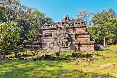 Starożytny buddhist khmer świątyni w kompleksie Angkor Wat