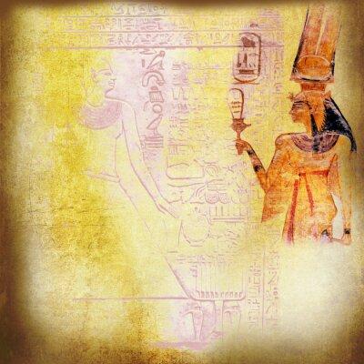 Obraz Starożytny Egipt tapety z królowej Nefertari