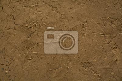 Obraz Starożytny mur gleby