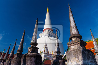 Starożytny Pagoda w świątyni Wat Mahathat, Nakhon Si Thammarat