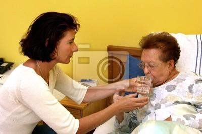 Starszy pielęgniarki z