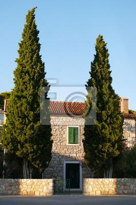 Stary dom w Kroatien