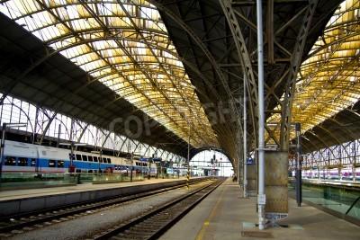Obraz Stary dworzec kolejowy wnętrz