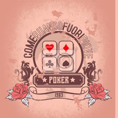 Obraz stary pokera 1983