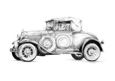 Obraz stary samochód retro klasyk