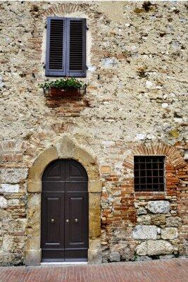 Obraz Stary włoski dom