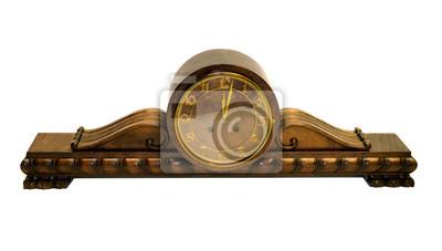 stary zabytkowy zegar, Buffetuhr