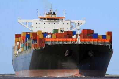 Obraz Statek transportowy