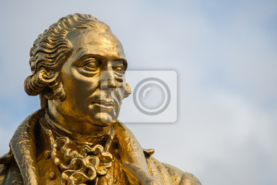 Obraz Statua Matthew Boulton, James Watt i William Murdoch William Bloye, Birmingham, Anglia