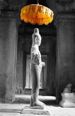 Obraz Statua w Angkor Wat