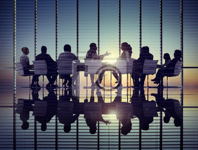 Obraz Strategia Business Meeting Sun Profesjonalne