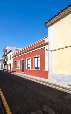 Street in San Cristobal de La Laguna, Tenerife, Spain.