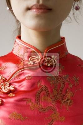 streszczenie chiński cheongsam costume