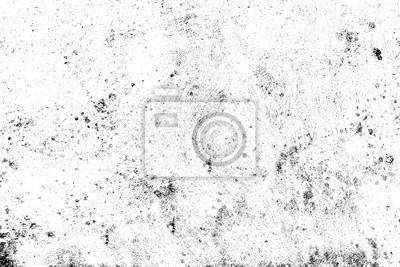 Obraz Streszczenie cząstki kurzu i pyłu ziarna tekstury na białym tle, brudu nakładkę lub ekranu wykorzystania efektu na tle grunge stylu vintage.