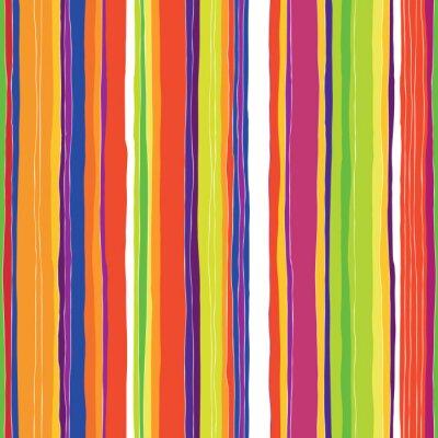 Obraz Streszczenie kolorowe paski wzorca. Bez szwu ręcznie rysowane linie vec