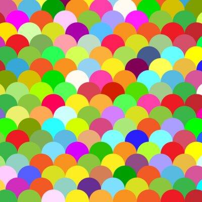 Obraz streszczenie kolorowe tło wagi