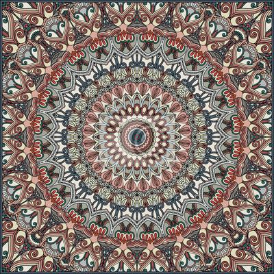 Streszczenie ozdobnych tle. Ethnic tekstylne