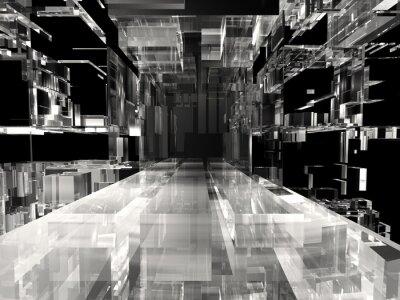 Obraz Streszczenie projektu technologii