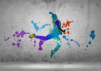 Obraz Streszczenie tancerz