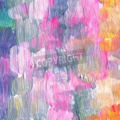 Obraz Streszczenie teksturowane akrylowe Akwarele ręcznie malowane tła. Styl impresjonizm.