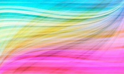 Obraz Streszczenie tle, Piękna tęcza tło wzór