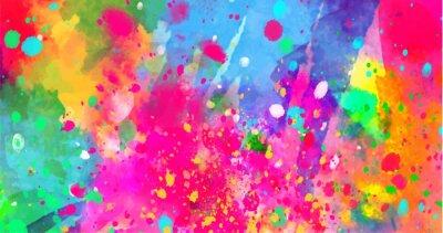 Obraz Streszczenie tło koloru plamy farby