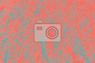 Obraz Streszczenie tło naturalne liście. Żywy Koral kreatywny i nastrojowy kolor obrazu.