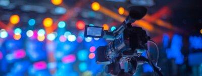 Obraz studio camera at the concert.