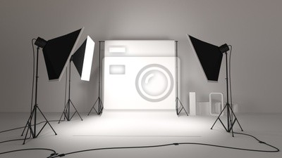 Obraz studio fotograficzne