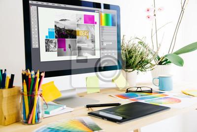 Obraz Studio graficzne