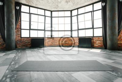 Obraz Studio jogi na poddaszu, miejsce