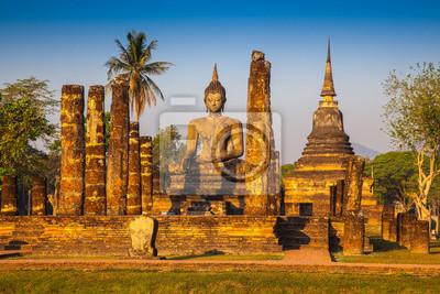 Sukhothai ruiny starego miasta Tajlandia kraj