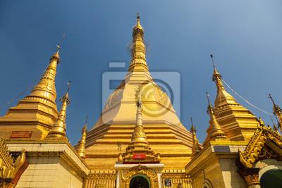 Sule Pagoda, Yangon, Birma.