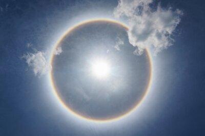 Obraz Sun Halo Above The Sky