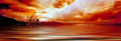 Obraz sunrise mono lake