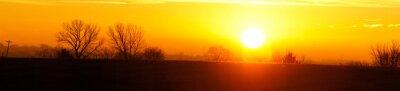 Obraz Sunrise Winter Solstice 2018 Panoramic