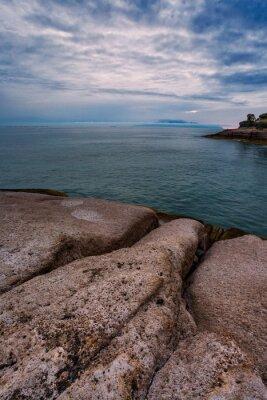 Sunset at rocks